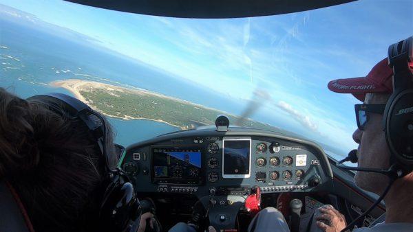 Pilotage ULM Cap-Ferret Izi-Fly