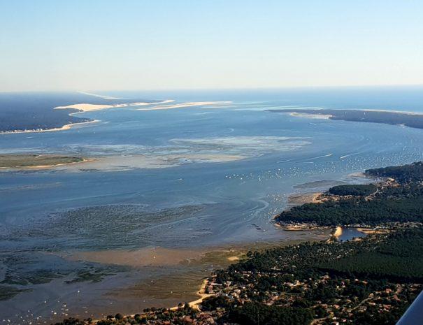 Baptême de l'air Arcachon - Bassin d' Arcachon