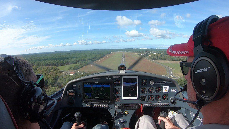 ULM Arcachon Pilotage Izi-Fly